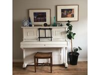 Piano for playing and/or up-cycling