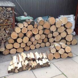 Logs big lumps