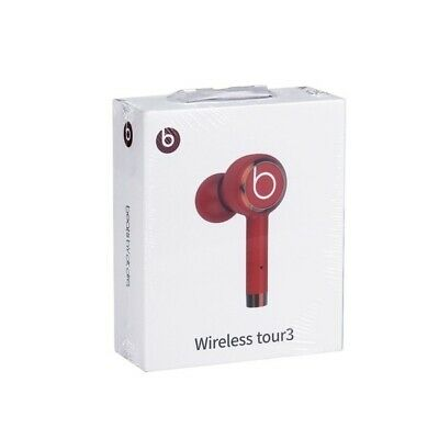 DR. DRE BEATS AIR PODS EARBUDS BLUETOOTH WIRELESS HEADPHONES RED BRAND NEW