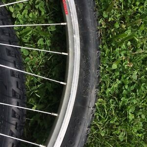 Michelin race tires with rims