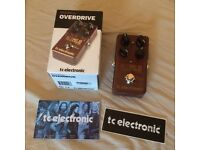 TC Electronic Mojo Mojo Overdrive Effects Pedal, Mint Condition In Original Box