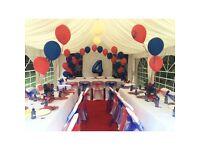 Balloon arch hire Table balloons Balloon decor Helium balloons in London area j