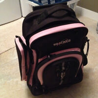 Girls wheely back pack