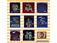 T-shirts aged 6-7 years *BNWT*