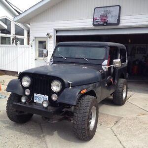 1984 CJ7 Jeep