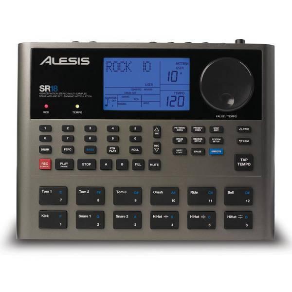 ALESIS SR-18 ELECTRONIC DRUM MACHINE SR18 - NEW