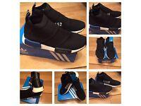 NMD City Socks CS1 Adidas PK Black Unisex Trainers Sneakers Shoes Footwear