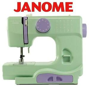 NEW JANOME PORTABLE SEWING MACHINE - 112260830 - MYSTICAL MINT