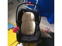Baby rear facing car seat