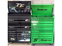 Snap on tool box GREEN OR ISLE OF MAN TT