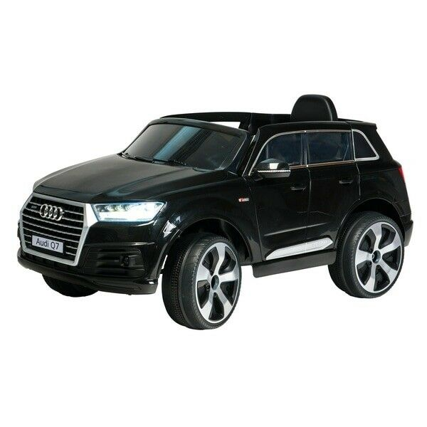 Black Audi Q V Ride On Kids Electric Car Excelent Condition - Audi 6v ride toy cars