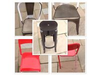 Chairs, Stools, Chimneas & BBQ