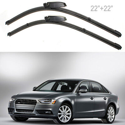 Factory OEM FOR AUDI A4 A6  Windshield Wiper Blade Set Left Right MA176