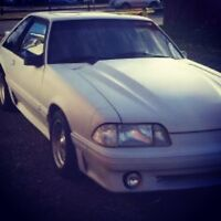 5.0 Mustang fox body - trade for a boat or personal watercraft