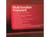 Electric key board , with microphone, Multi functional key board,