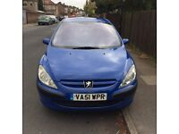 Peugeot 307 hdi diesel , full mot , nice clean car
