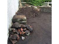 Soil/rubble/slabs