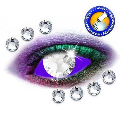 2058 Crystal (200 Swarovski® Kristalle 2058 Crystal SS5 - KEIN Hotfix (Strass Steine))