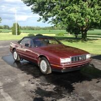 1987 Cadillac Allante 2 door coupe