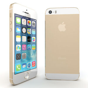 iPhone 5s Gold 16GB 9/10 Condition (Locked to Bell/Virgin)