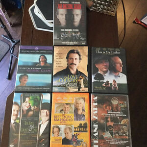7 DVD's for sale