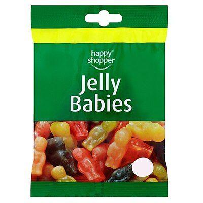 BABIES 85G BAG KIDS SWEETS CHEWS BIRTHDAY PRESENTS GIFT  (Happy Birthday Shoppen)