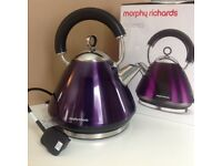 Brand new kettle. Morphy Richards Accent Plum Model: 43769.