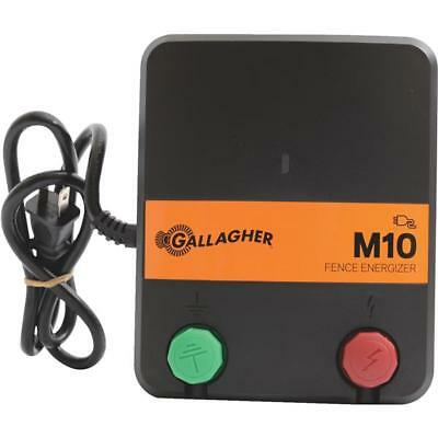 Gallagher M10 10 Acre 2 Mile Electric Fence Charger G331424 Small Pasture Garden