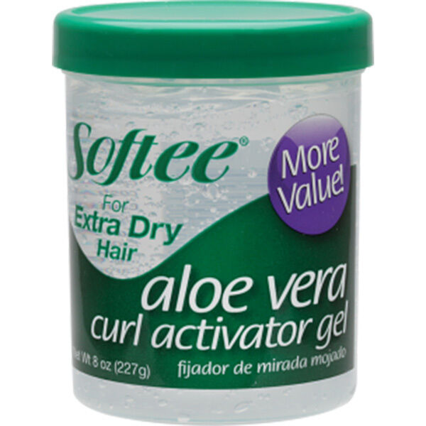 Softee Aloe Vera Curl Activator Gel For Extra Dry Hair Formu