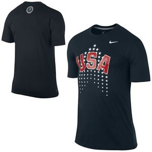 Nike Team USA 2014 Sochi Olympics Graphic 3 (USOC) Dri-Fit Shirt NWT (RARE)!!!