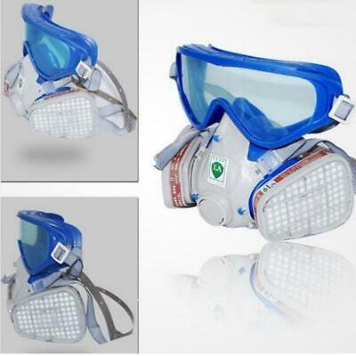 New Silicone Full Face Respirator Gas Mask Goggles