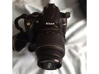Nikon d5000 and 55-200mm lens