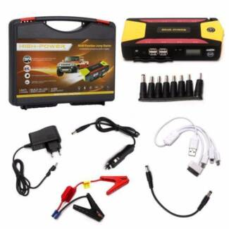 82800mAh Power Bank Portable Car Jump Starter Pack Booster phone