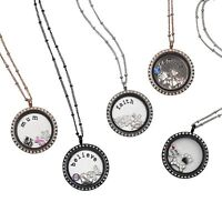 Beautiful floating glass memory lockets. Makes the perfect gift!