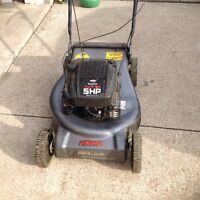 """Commercial duty Noma with 5hp XTE engine & 21""""cut"""
