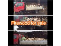 Firewood for sale seasoned split logs hardwood fire wood