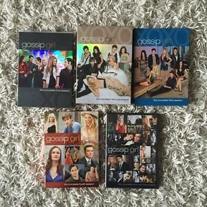 Gossip Girl Season 1-6 DVD (no season 5)