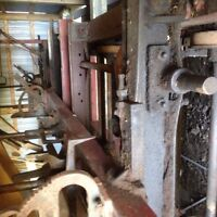 Sawmill with carriage for sale !