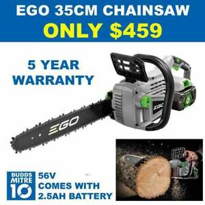 EGO CHAINSAW 56V 35CM WITH 2.5AH BATTERY INCLUDED