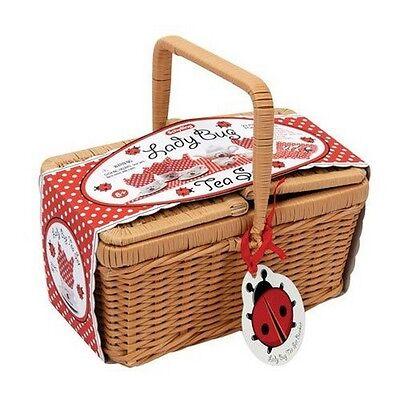 Schylling LBTSB Ladybug Tea Set Basket