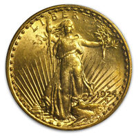 1924-S $20 St. Gaudens Gold Double Eagle