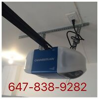 Garage door and opener repair