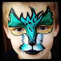 Insured Professional Face Painter/Airbrush Tattoos