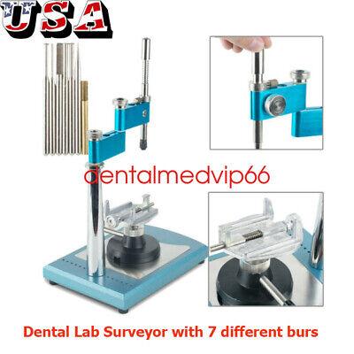 Dental Lab Equipment Fullyadjustable Parallel Surveyor Visualizer With Spindles