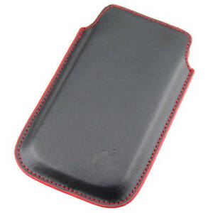 BRAND-NEW Leather Case Pouch for iPod Touch/iPhone or BB Curve
