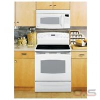 """NEW GE PROFILE 30"""" SMOOTHTOP CONVECTION 2 OVENS WHITE"""