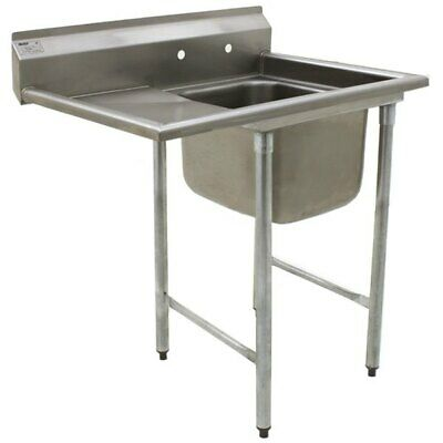 Eagle Group 414-18-1-18 L One Compartment Sink 16 Bowl 18 Drainboard