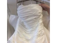 Size 16 unworn Ivory wedding dress