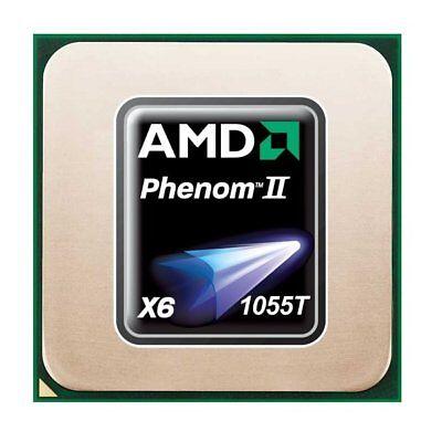 AMD Phenom II X6 1055T (6x 2.80GHz) HDT55TFBK6DGR CPU Sockel AM3   #29853