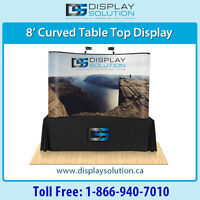 Popup Trade Show Booth makes a big impact